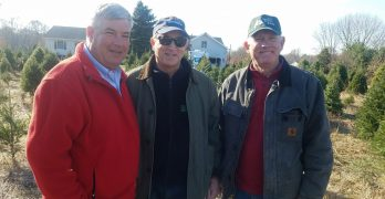 NJ Governors Office Officially Kicks Off Choose and Cut at Spruce Goose Christmas Tree Farm