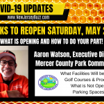 Parks Reopen May 2nd